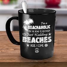 family vacation mug beachaholic gonebold gift