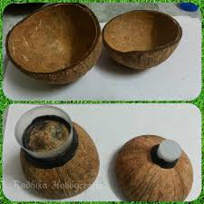 hobby crafts coconut shell box