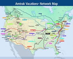 Amtrak Map East Coast Amtrak Rail Map Philippi Map