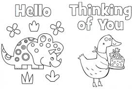 printable thank you cards highlights for children