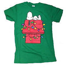 snoopy christmas t shirts peanuts snoopy christmas lights dog house graphic t