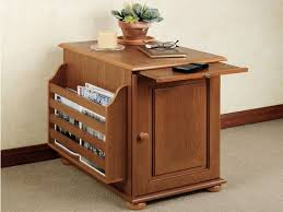 narrow end tables with storage narrow accent table awesome narrow wood end table with pull out tray