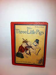 pigs book littlebitofeverything ruby lane