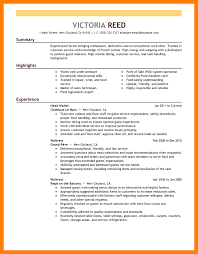Food Customer Service Resume 100 Resume Examples Server 100 Sample Resume For Cashier