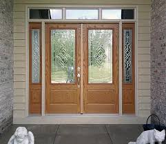 Feather River Exterior Doors Feather River Door S Lakewood Exterior Door With Two Sidelites