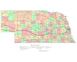 Road Map Of The Usa by Maps Of Nebraska State Collection Of Detailed Maps Of Nebraska