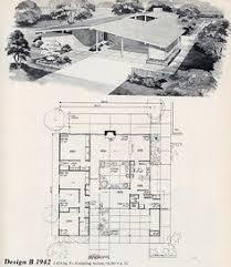 Mid Century Modern House Plan Mid Century Modern House Plans Mid Century Modern Post U0026 Beam