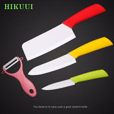 Good Kitchen Knives Set Aliexpress Com Buy 4 Piece Ceramic Knife Set Kyocera Zirconia