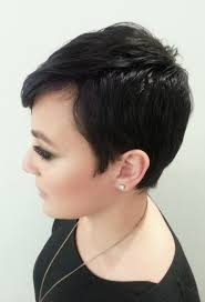 pixie haircut for thick curly hair thick wavy frizzy hair after