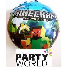 minecraft balloons foil balloon