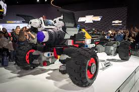 lego bentley chevrolet introduces life sized lego batmobile at detroit auto
