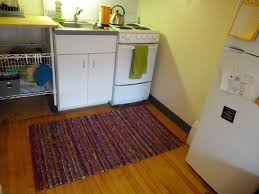 country brown moroccan kitchen rug puts near l shaped white