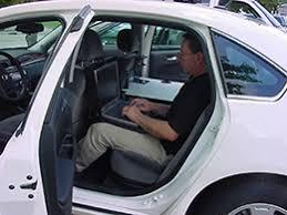 Car Office Desk Cargo Desk Ergonomic Back Seat Car Desk With Articulating Arm