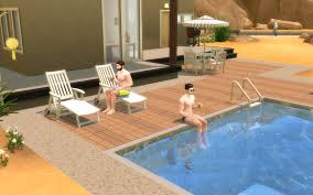 mod the sims ts2 to ts4 poolside loungechairs