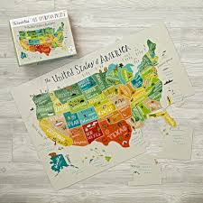 usa map puzzle for toddlers amazoncom doug usa map wooden puzzle 45 pcs us