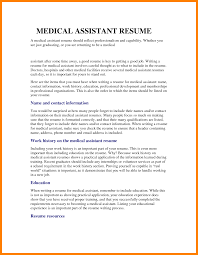 Resume Objective Necessary 12 Medical Assistant Resume Objective Statement New Hope Stream