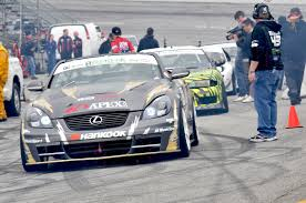 lexus sc430 drift ken block gymkhana grid toyota speedway photos u0026 recap