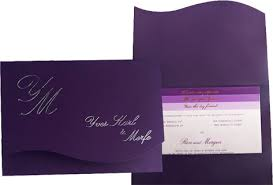 Wedding Invitations Purple Purple Wedding Invitations Wedcardshare