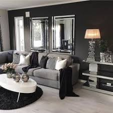 Gray Couch With Dark Walls Living Room Inspiration For The Home - Grey living room decor