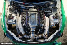 4bt cummins twin turbo pick your weapon the engine bays of formula drift speedhunters