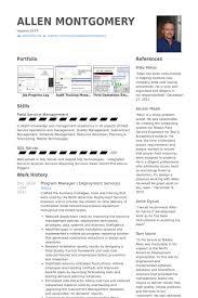 Program Manager Resume Sample by Program Manager Resume Samples Visualcv Resume Samples Database