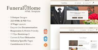 template for funeral service funeral home funeral services church html template by themesuite