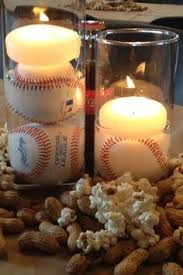 baseball centerpieces baseball baby shower supplies baseball stack baseball