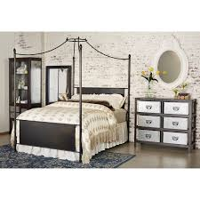 Magnolia Home by King Canopy Bed Straight Back By Magnolia Home By Joanna Gaines