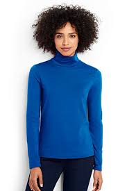 s shaped layering turtleneck from lands end