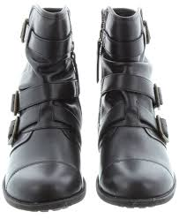 ugg womens finney boots ugg finney biker ankle boots in black
