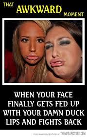 Big Lips Meme - duck lips the meta picture