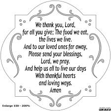 thanksgiving daily thanksgiving prayer for children reproducible