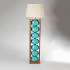 Turquoise Table Lamp A Turquoise Floor Lamp Enlightening Your Room Dramatically Homesfeed