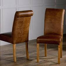 Scroll Back Leather Dining Chairs Real Leather Dining Chairs Black Real Leather Swing Dining Chair