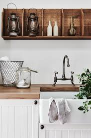 a french inspired farmhouse in victoria cupboard laundry and sinks