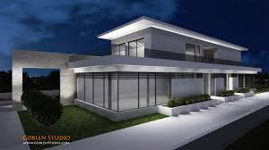 Design House 3d Architectural Visualization Luxury Modern Suburban House