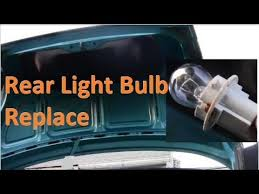 ford focus tail light bulb how to access replace rear light bulb and housing on ford contour