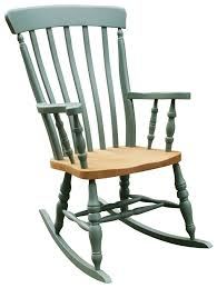 Rocking Chair Ghost Windsor Lath Back Rocking Chair