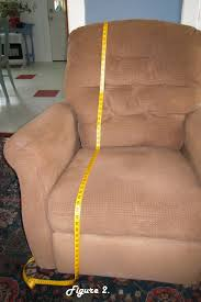 can you put a slipcover on a reclining sofa recliner slipcover tutorial create sewing pinterest