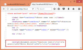 The World U0027 by Encode Html Javascript And Url Query Strings In Asp Net Core
