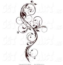 curly vine scroll design art pinterest scroll design tattoo