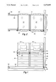 Built In Trash Compactor by Patent Us5179895 Trash Compactor Google Patents