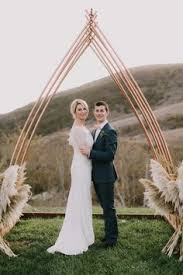 wedding arches to hire cape town metallic wooden triangle backdrop wedding party ideas 100