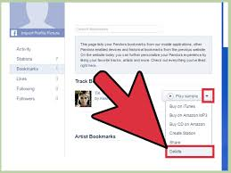 access bookmarks on pandora with pictures wikihow