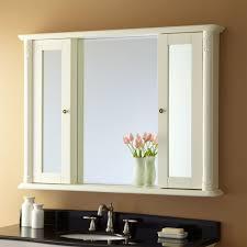 white framed recessed medicine cabinet 48 sedwick creamy white vanity bathroom brilliant medicine cabinet