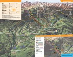 Snowmass Colorado Map by Snowmass Skimap Org