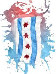 Chicago Flags Chicago Flag By Studiodreamhouse On Deviantart