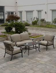cast aluminum patio furniture cast aluminum outdoor furniture