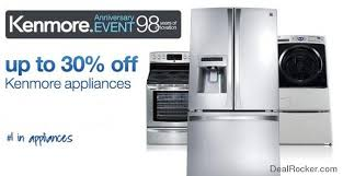 sears appliance black friday deals sears kenmore anniversary event 30 off kenmore appliances