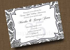 Special Invitation Card Anniversary Invitation Cards Anniversary Invitation Cards In